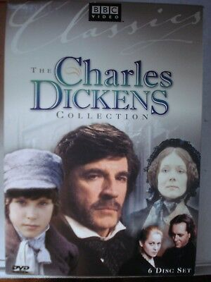 The Charles Dickens Collection BBC 6 DVD Box Set Oliver Twist Great Expectations