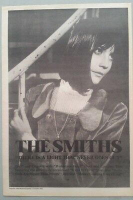 "THE SMITHS THERE IS A LIGHT..#2 ORIGINAL 1992 Magazine Advert Size 12"" X 17"" app"