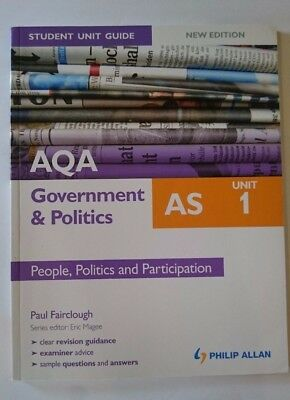 AQA AS Government & Politics Student Unit Guide New Edition: Unit 1
