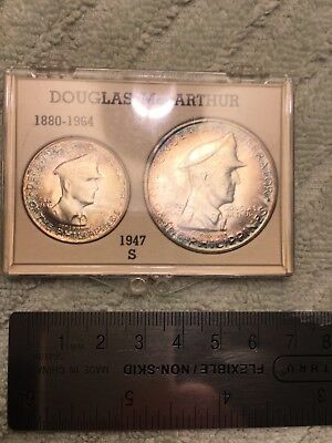US, Macarthur, Philippines, Silver Coin Set, 1947