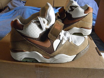big sale 71c4c 935c4 Nike Air Force Max 180 Charles Barkley CB34 CB4 Alpha CORK RARE sz 10.5  VNDS II