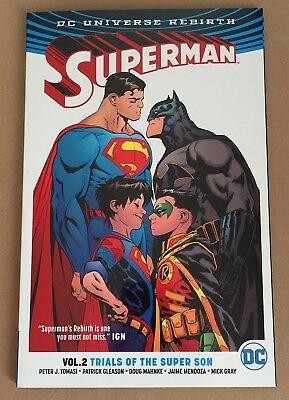 Superman Rebirth – Volume 2 – Trials Of The Super Son - Graphic Novel Paperback