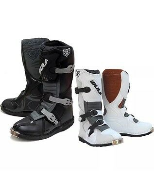 Wulf Cub LA Junior Motocross Boots Wulfsoprt Off Road Kids Childrens All Sizes