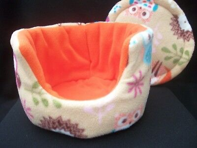 """COZY PETS guinea pig bed snuggle pouch cuddle cup sack hedgehog sleeping bag10"""""""