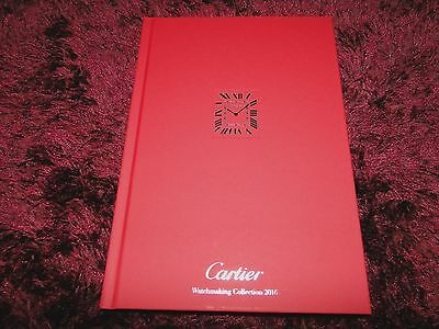 Cartier Watch Catalogue HB 2016