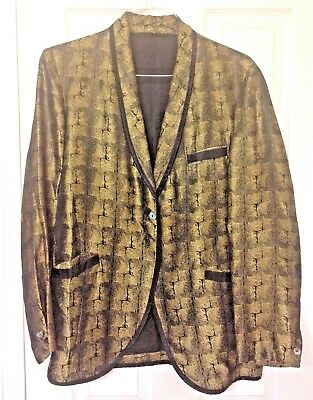Vintage 1960s Clothing - Rock Band - Suit Jacket - Size Small