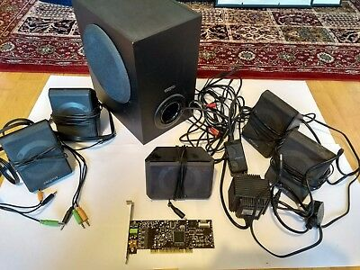 Creative 5.1 Surround Sound System with PCI Soundcard