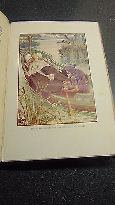 1911 1St Ed. King Arthur's Knights Illustrated By Walter Crane - 16 Plates Vgc