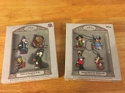 Disney Hallmark Keepsake Famous Faces for Halloween & Trick or Treating in OZ