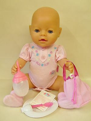 Zapf Creation Baby Born Interactive Doll With Accessories