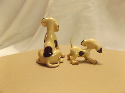 Bone China Miniature Dog & Puppy Figures SOME KIND OF HOUND ceramic figurine