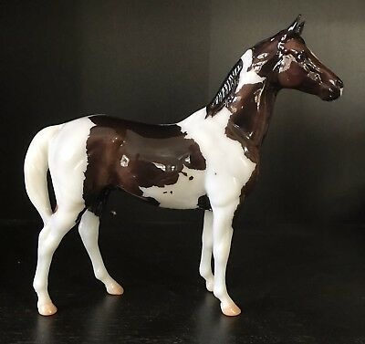 Breyer * Scotty * 712231 Web Special Glossy Pinto Paint SR Classic Model Horse