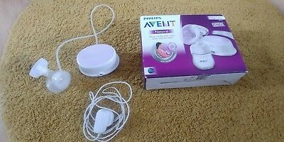 Philips Avent Natural Electric Breast Pump BPA free comfort proven