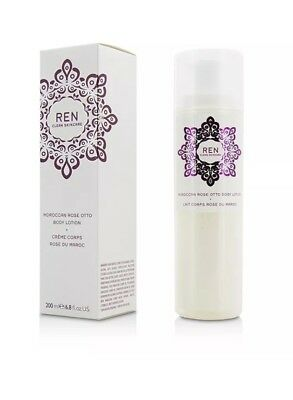 REN Clean Skincare Body Moroccan Rose Otto Lotion 200ml  BNIB rrp £27