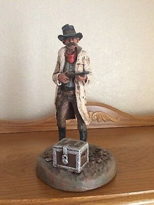 Michael Garman Cowboy Limited Edition Sculpture #412 The Highway Man