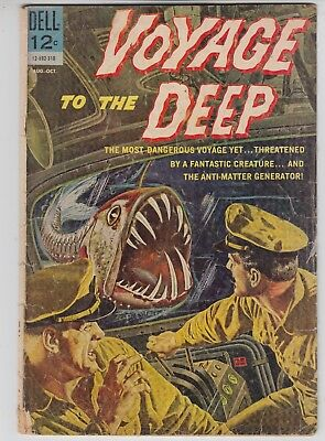VOYAGE TO THE DEEP #3 Dell Adventure Comic 1963  G