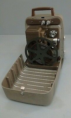 Vintage 8MM Projector Bell & Howell 253R Excellent Condition