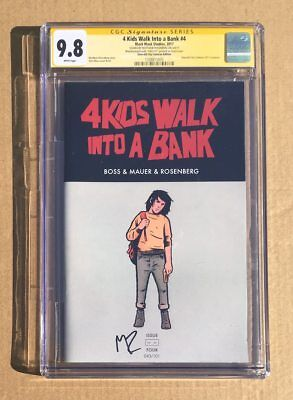 ROSENBERG CGC 9.8 SS 4 KIDS WALK INTO A BANK # 4 2017 ECCC EXCLUSIVE 43/101 vhtf