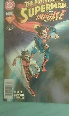 The Adventures of Superman #533 DC Comics 1996 First Printing
