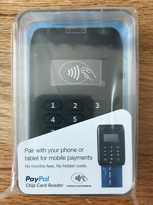 Paypal Here Contactless Emv Chip & Pin Card Reader  M010-Prod10-V2 *brand New*