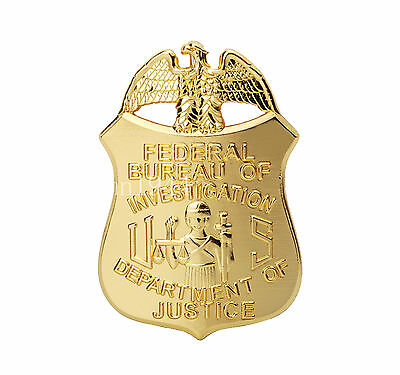 Mini Us Fbi Badge Money Clip Department Of Justice Badge Money Clip