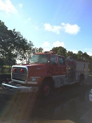 1994 Ford  Fire Water pumper/services truck
