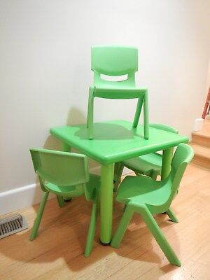 Childrens Childs Kids Table and 4 Chairs - NEW - Paid  $120