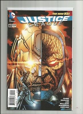 Justice League #40 New 52 | NM | 1st PRINT | 1st Grail (Darkseid's daughter) DC