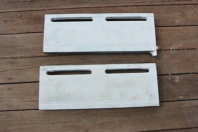 "Two 2' x 10"" sections Cast Iron Baseboard Radiator LOCAL PICK-UP ONLY @ MA 02171"