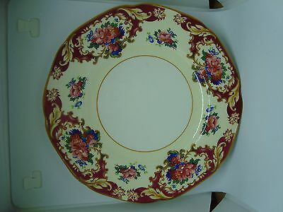 CROWN DUCAL Plate. Beautiful! Marked on Back!