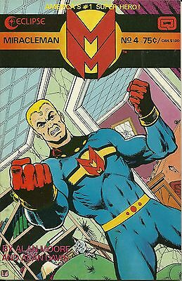 Miracleman(Eclipse) # 4  Very Fine FREE SHIPPING !