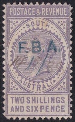 Stamps South Australia - 2/6d Postage & Revenue Perf 10 -  FBA.