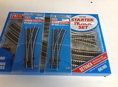 PECO Starter Track Set and 2 Righthand Turnouts