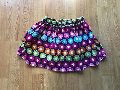 """Gymboree Toddler Girls 5T Fall Floral Skirt """"Smart and Sweet"""" EUC!"""