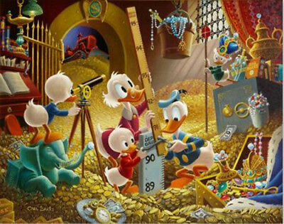 Disney HD Canvas Print home decor wall art painting Uncle Scrooge No Frame L160