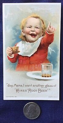 Hires Root Beer, trade card