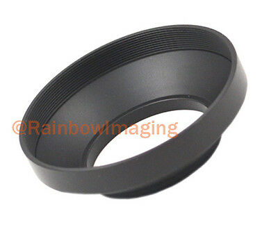 43mm Metal Wide Lens Hood for Leica Pentax Zeiss Canon Sony Wide Angle Lens