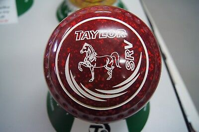 New Taylor SRV Lawn Bowls Maroon/Red - Size 4H - WB26