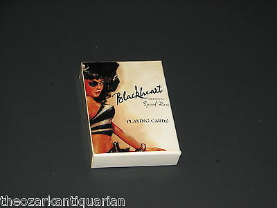 Blackheart Spiced Rum Playing cards poker cards FREE SH UNUSED!
