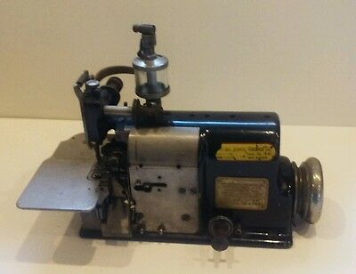 Antique Merrow Type 60-BD Overlock Heavy Duty Industrial Sewing Machine