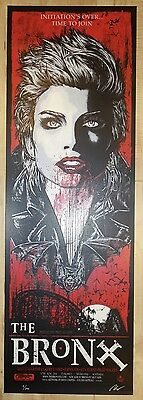 2014 The Bronx - Melbourne Silkscreen Concert Poster S/N by Rhys Cooper