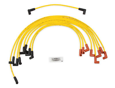 ACCEL 4048 Spark Plug Wire Set - 8mm - Yellow with HEI Stock Style Boots