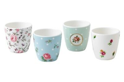 NEW Royal Albert: egg cups set of four (Country Roses / Rose Confetti / Polka)