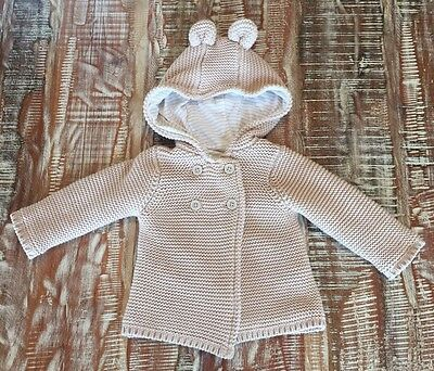Unisex Baby Cardigan Jacket sz 3-6 Months Excellent Condition
