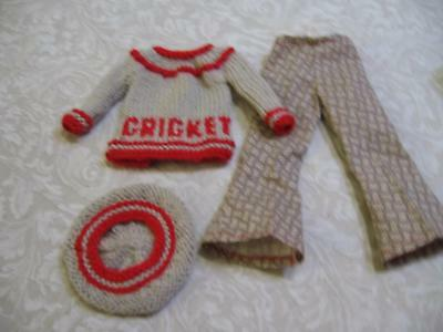 Ideal Crissy/Chrissy  Cricket named outfit