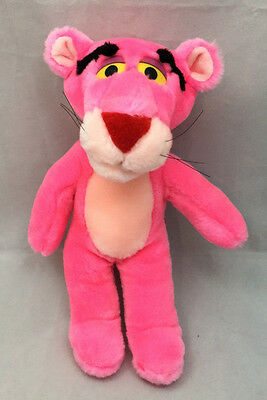 "Pink Panther Vintage 1996 United Artists Pictures Inc MGM 11"" Plush Toy Lovey"