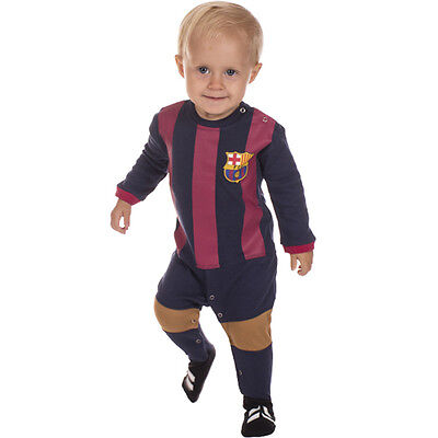 Barcelona FC Infant Footysuit  Sizes 000 - 1