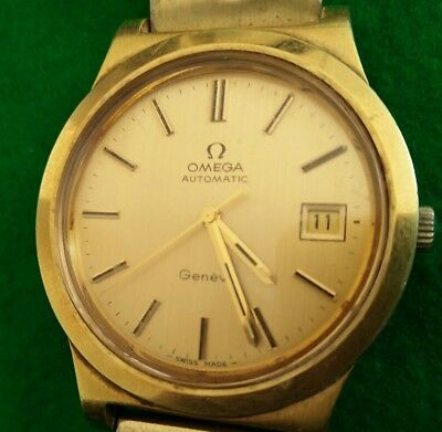 70' Omega cal.1012/1010 Auto Gold Plated watch