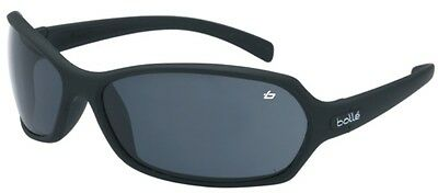 Bolle Hurricane  Safety Glasses - Black Frame Smoke Lens * BRAND NEW *