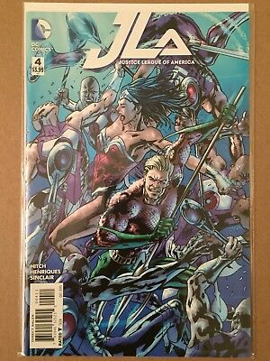 JUSTICE LEAGUE of AMERICA (2015) #4 COVER A by BRYAN HITCH NM 1ST PRINTING JLA